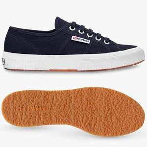 Superga 2750 Cotu Classic Canvas Trainers £26 + £3.50 delivery at John Lewis & Partners. Free delivery over £50.