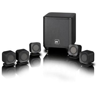 Mission M3 M-CUBE Black 5.1 Satellite Speaker Package £299 delivered from AVonline