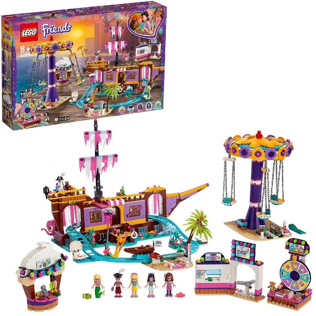 LEGO 41375 Friends Heartlake City Amusement Pier £66.50 delivered at Amazon