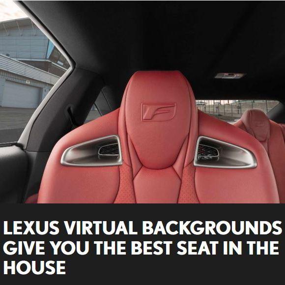 Free Lexus Zoom Virtual Backgrounds @ Lexus