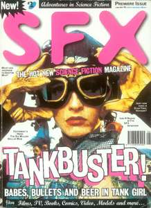 Free ebook copy of SFX Issue 1 & The Ultimate Sci-Fi Quiz Book at Future Publishing