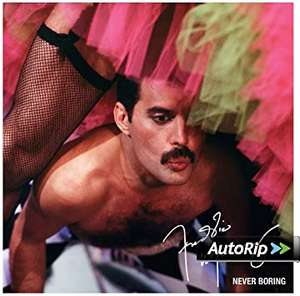 Freddie Mercury - Never Boring Vinyl 180g £12.99 (+ £2.99 delivery non-Prime) @ Amazon