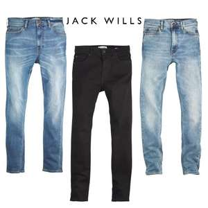 Jack Wills Men's Jeans - 7 styles / colour options at £19.99 + Free Delivery @ JTF