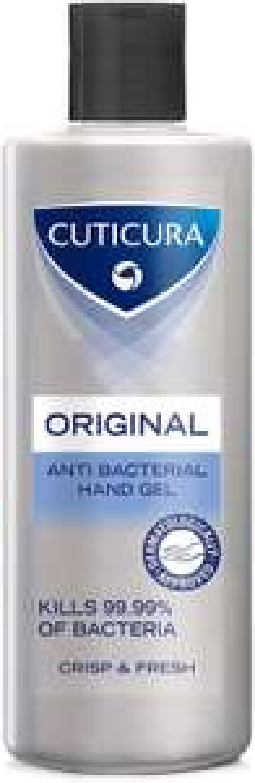 Cuticura Original Anti-Bacterial Hand Gel 200 ml | Pack of 6 x 200ml - £14.94 (Prime) £19.43 (Non Prime) @ Amazon