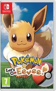 Pokémon: Let's Go, Eevee! (Nintendo Switch) - £34.95 delivered @ Currys eBay