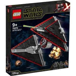 LEGO STAR WARS: Sith TIE Fighter for £47.99 delivered using code @ IWOOT