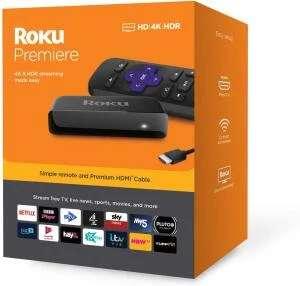 Roku Premiere 4K/HDR Streaming Media Player - £28.49 Delivered @ Currys / eBay