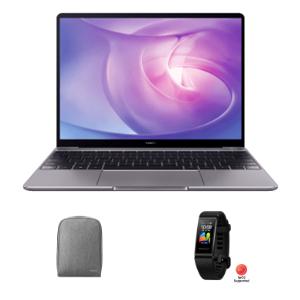 Pre-Order - HUAWEI MateBook 13 AMD Ryzen 5, 8GB RAM, Space Gray, 256GB plus free Band 4 Pro & backpack £599.99 @ Huawei