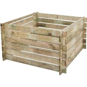 435 litre wooden Rowlinson Budget Composter for £31.98 delivered @ JTF