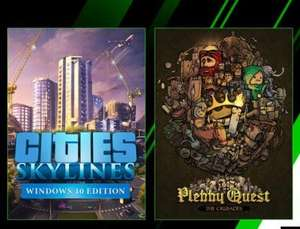 Xbox Game Pass Additions - Cities: Skylines & Plebby Quest