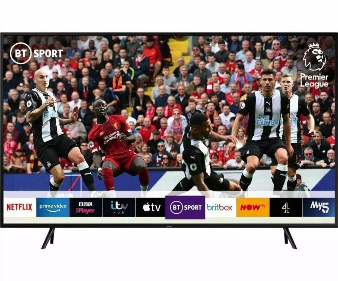 "SAMSUNG QE49Q60RATXXU 49"" Smart 4K Ultra HD HDR QLED TV with Bixby £534.73 @ Currys_Clearance eBay"