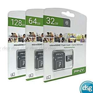 PNY 32Gb MicroSD card + adapter for £3.99 delivered @ dsg_outlet / eBay