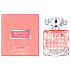 Jimmy Choo Blossom Eau De Parfum 60ml Spray Limited Edition £24 delivered with code + Free Sample @ Beauty Base