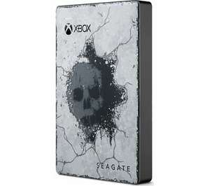 SEAGATE Gears of War 5 Special Edition Game Drive for Xbox - 2 TB, Grey - £52.43 With Code and auto discount at checkout @ Currys/Ebay