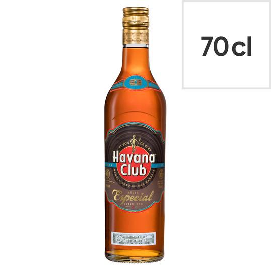 Havana Club Anejo Especial Rum 70Cl £16 at Tesco