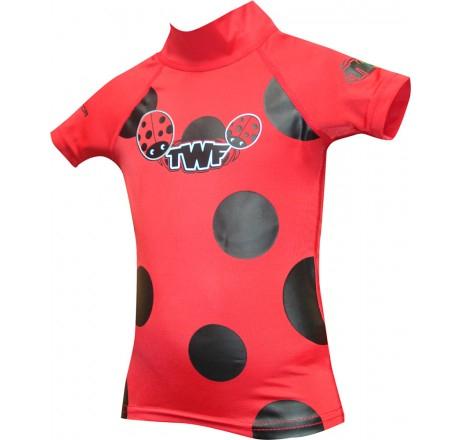 Tot's (Toddlers) Rash Vest Ladybird Red (Ages 2-3 / 3-4) or Tot's Rash Vest Princess Pink (Age 2-3) SPF 50+ £3.66 del @ Allens Of Kingsbury