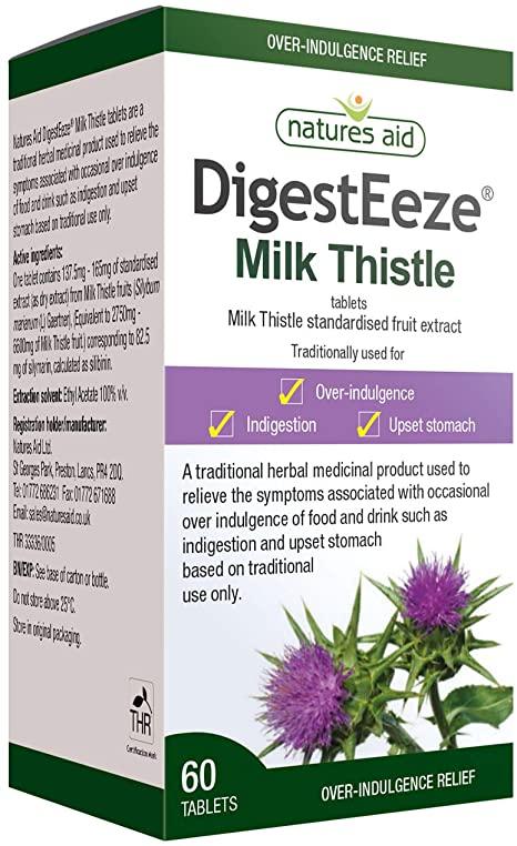 Spring liver detox: Natures Aid Milk Thistle, 60 Tablets £7.49 Amazon Prime / £11.98 Non Prime