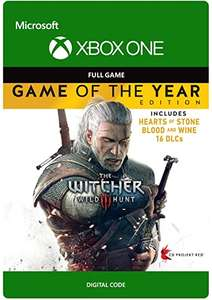 (Xbox One - Download Code) The Witcher 3: Wild Hunt - Game of The Year £10.49 @ Amazon