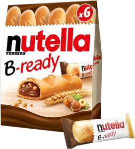 Nutella B-Ready Biscuits 6 x 22g £1 @ Amazon Pantry (£15 min +£3.99 delivery)