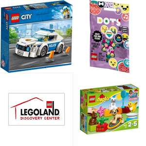Free LEGO sets with qualifiying purchases at LEGOLAND Discovery Centre shop (From £23.95 Delivered)
