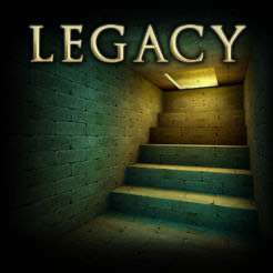 Legacy - The Lost Pyramid, IOS App Store, Point-and-Click Adventure Game.