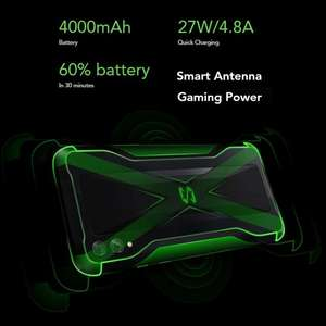 Global Version Xiaomi Black Shark 2 6GB RAM 128GB Smartphone Snapdragon 855 - £233.87 @ SuperGLX Store / Aliexpress