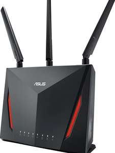 Asus RT-86u Router £158.05 / £135.93 w/fee free card at Amazon Germany