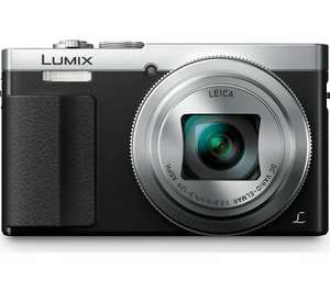 PANASONIC Lumix DMC-TZ70EB-S Superzoom Compact Camera - Silver, £188.62 with code at Currys/ebay