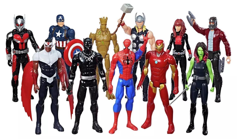 Marvel Titan Hero Series Mega Collection 11-pack £60 at Argos