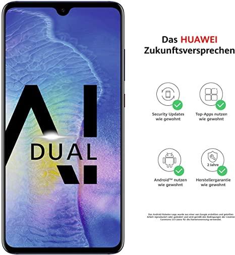 "Huawei Mate 20 Dual-SIM (6.53"", 128GB internal memory, 4GB Ram) + USB Type-C adapter £264.94 @ Amazon DE"