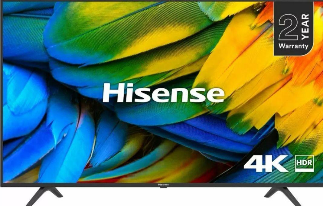 Hisense H43B7100UK 43-Inch 4K UHD HDR Smart TV +2 Year Warranty - £236.55 / HISENSE H55B7100UK 55inch £312.55 @ Currys eBay