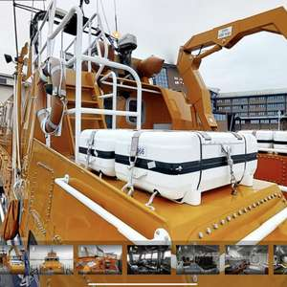 free Virtual 360 tour of an RNLI lifeboat