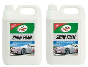 Turtle Wax 53111 Cherry Snow Foam 10L (2x 5l) Bottles for £20 inc Free Postage at turtlewaxeurope eBay
