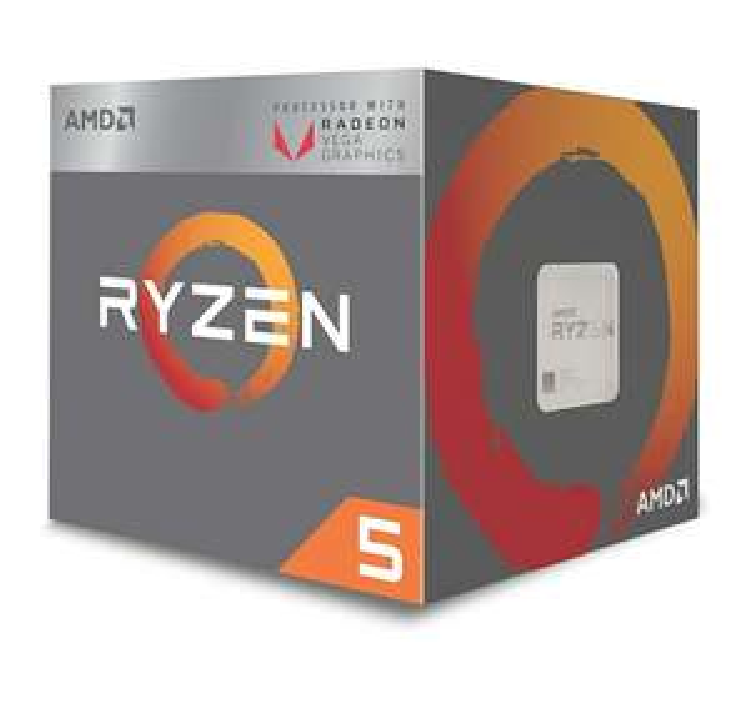 AMD Ryzen 5 3400G Processor (4C/8T, 6 MB cache, 4.2 GHz Max Boost) with Radeon RX Vega 11 Graphics - £137.99 @ Amazon