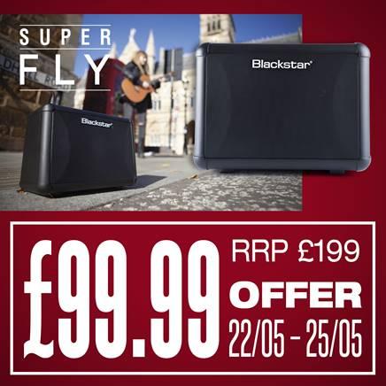 Blackstar Super Fly Bluetooth Guitar Amp Deal £99.99 Fair Deal Music