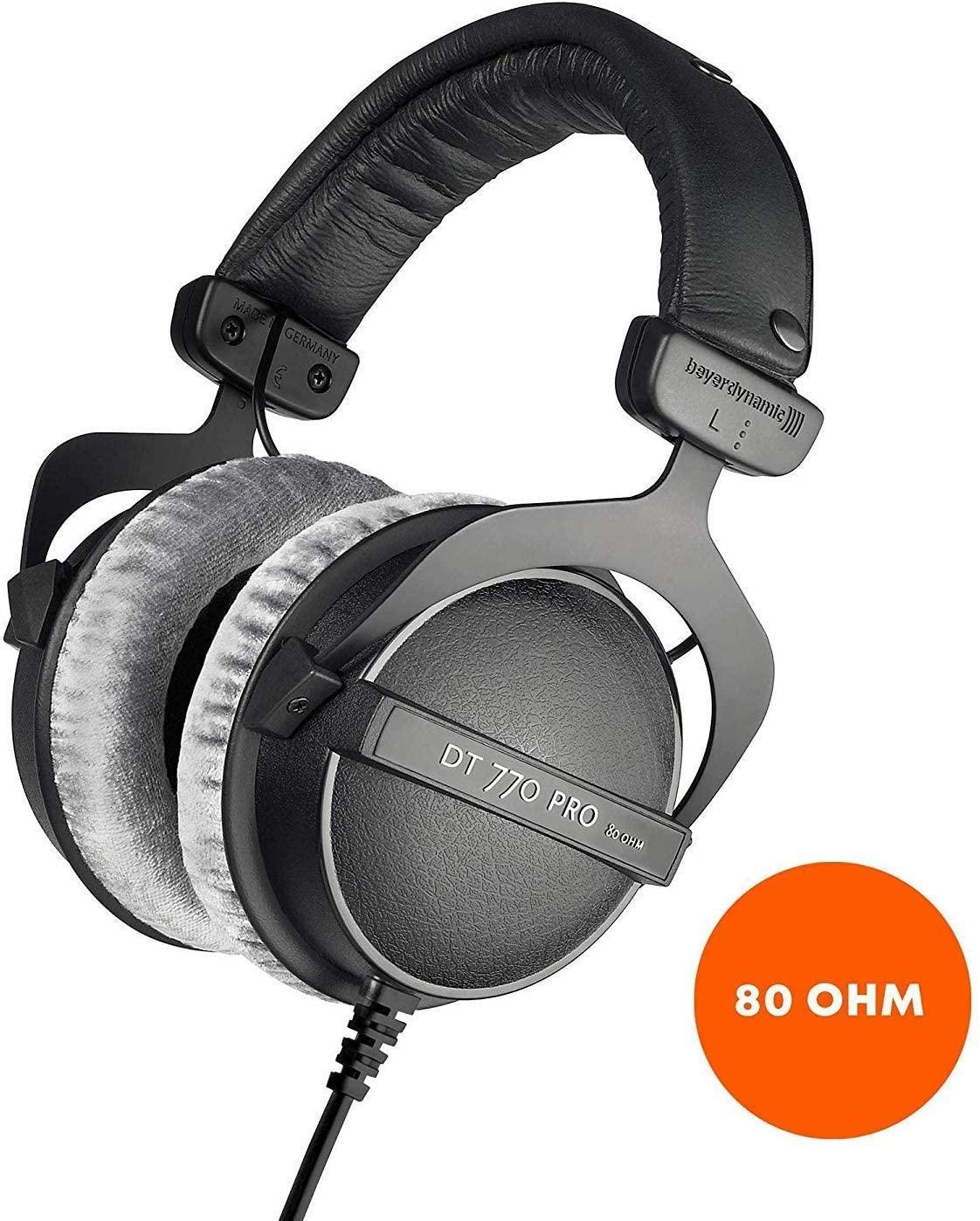 beyerdynamic DT 770 PRO Studio Headphones - 80 Ohm £90 delivered at Amazon