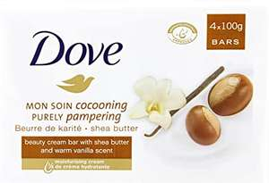 Dove Shea Butter Beauty - 24 Bars (Four Bars / Pack of 6) £12 (+£4.49 non Prime) Delivered @ Amazon