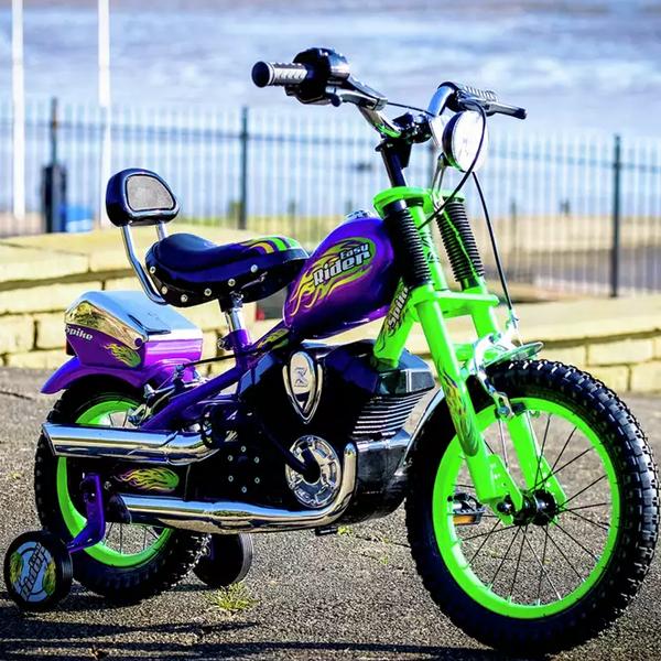 Spike Easy Rider Green Chopper 14 inch Wheel Size Kids Bike - £102.95 Delivered @ Argos