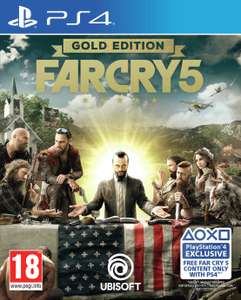 Far Cry 5 Gold Edition PS4/XBOX - £14.99 / £18.94 delivered @ Argos