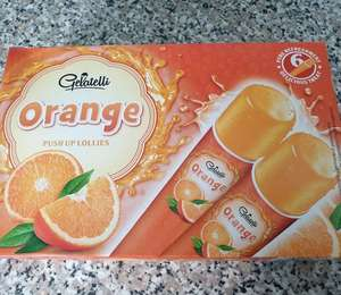 6 Gelatelli Push up Lollies £1.59 Lidl Orange or Cola