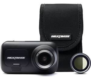 NEXTBASE 222 Full HD Dash Cam, Case & Polarising Filter Bundle - £39.97 delivered @ Currys PC World