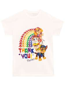 To help the NHS Paw Patrol T-Shirt - NHS Heroes £9.95 + £4.95 delivery at Character.com