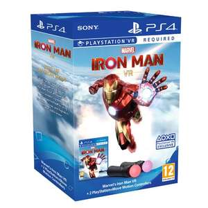 Marvels Iron Man VR PlayStation Move Controller Bundle - £79.95 Delivered (Preorder) @ The Game Collection