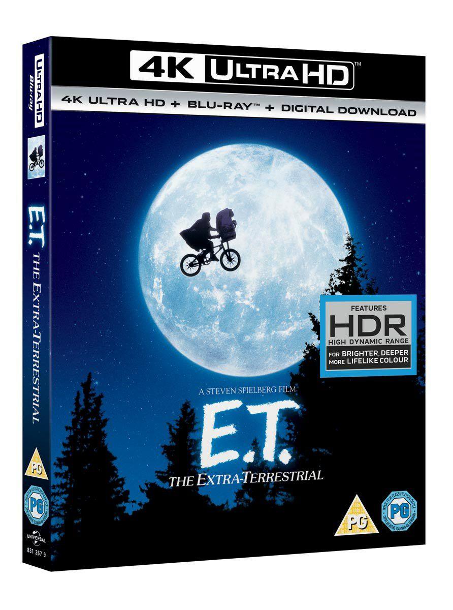E.T The Extra Terrestrial 4k uhd blu ray £9.99 @ zoom / eBay