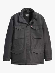 Levi's Sherpa Field Coat in black in various sizes for £55 delivered @ John Lewis & Partners