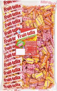 Fruittella Juicy Chews Bulk Sweets 2kg £9.99 (+£4.49 Non-Prime Postage) at Amazon