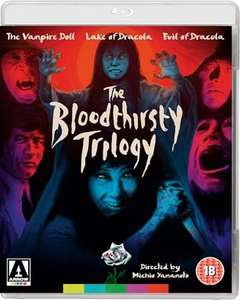 The Bloodthirsty Trilogy - Blu Ray £12 delivered @ Arrow Films