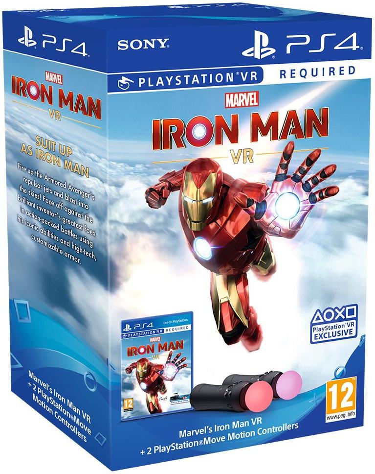 Marvel's Iron Man VR - PlayStation Move Controller Bundle on PlayStation 4 plus Pre-Order Bonuses for £79.85 delivered @ Simply Games