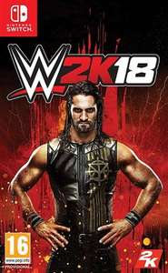 WWE 2K18 Switch £25.00 @ CeX + £1.95 Shipping