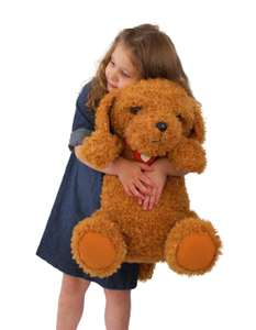 Waffle The Wonder Dog Giant 45cm Soft Toy (Half Price) £15 + £3.95 delivery at Argos